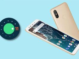 小米mi a2 android 11