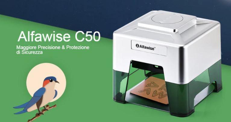 Alfawise C50 Mini Lasergravierer SMART Drucker - GearBest