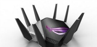 asus rog rapture gt-axe11000 router wi-fi 6e