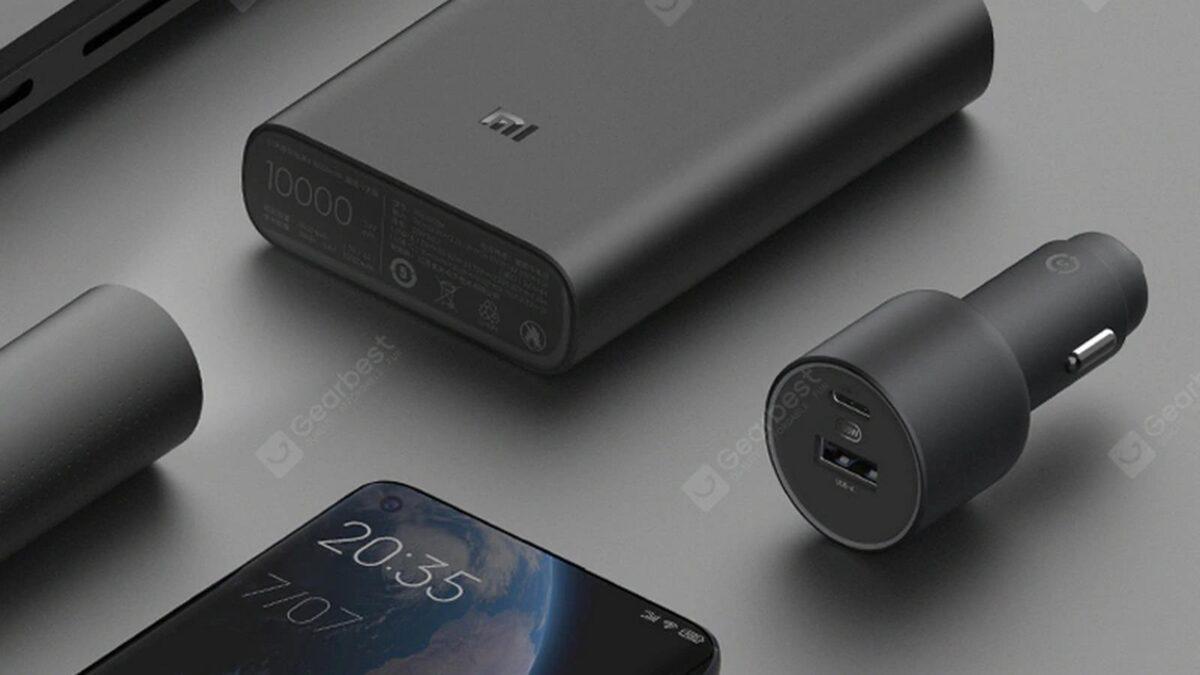 caricabatterie da auto Xiaomi da 100W