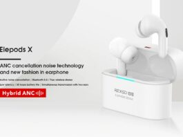 kortingscode elephone elepods x aanbieding tws anc bluetooth hoofdtelefoon
