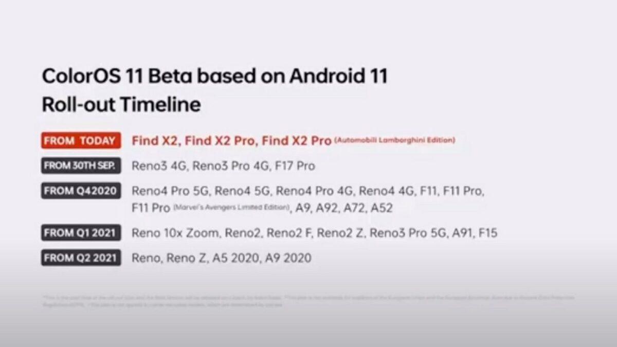 coloros 11 beta