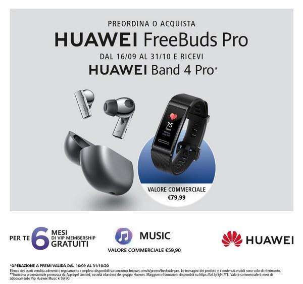 huawei freebuds pro offerta band 4 pro mini speaker music 3