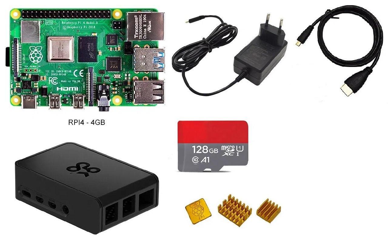 KIT RaspBerry Pi 4 Modell B 2 GB RAM - GearBest