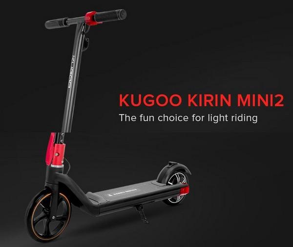 KUGOO Kirin Mini 2 monopattino elettrico – Geekbuying