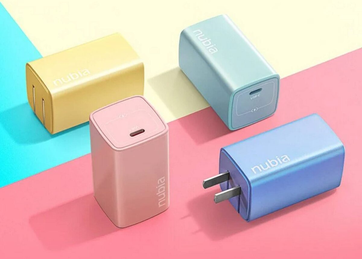 Nubia GaN Charger Candy