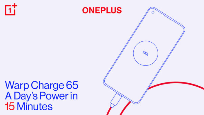 oneplus warp charge 65