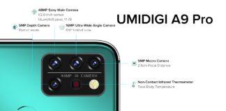 umidigi a9 pro specificaties infrarood thermometer prijs output