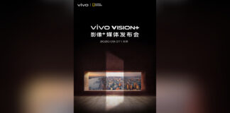aparat fotograficzny w technologii wizji zdarzeń vivo