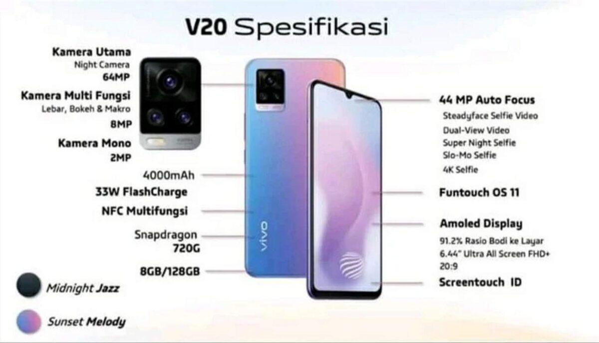 Vivo V20 V20 Pro E V20 Se Imagens E Especificacoes Da Nova Serie Gizchina It