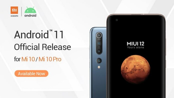 xiaomi mi 10 pro android 11 global stabile