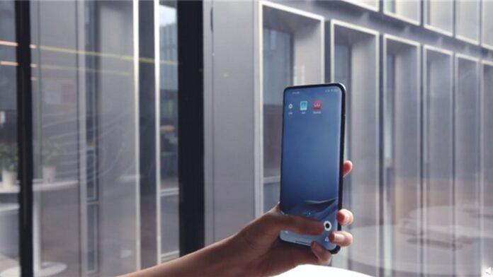 xiaomi smartphone flagship fotocamera sotto display uscita