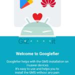 come installare servizi google huawei honor googlefier