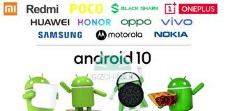 aktualizacje Androida xiaomi redmi little black shark oneplus huawei honor oppo vivo samsung motorola nokia