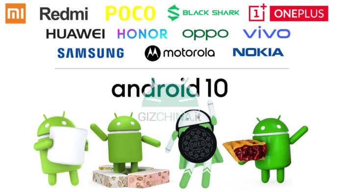 aggiornamenti android xiaomi redmi poco black shark oneplus huawei honor oppo vivo samsung motorola nokia