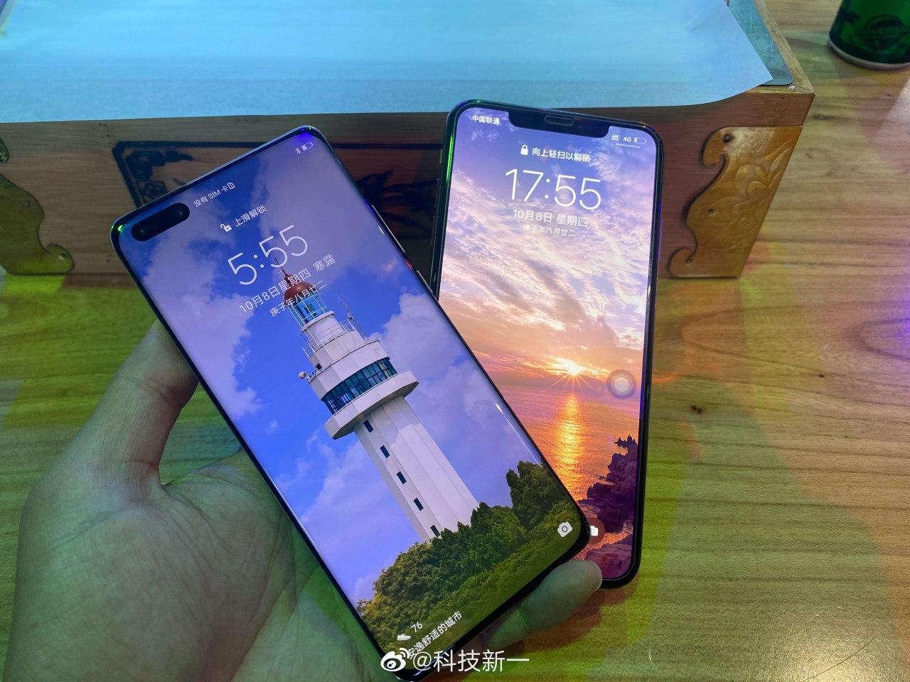 Huawei Mate 40 Pro Apple iPhone 12