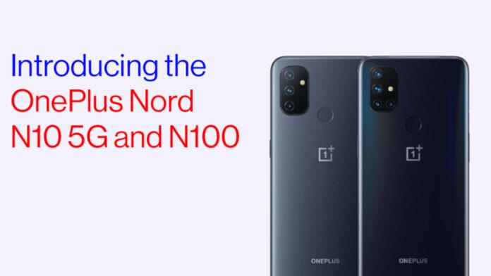 OnePlus Nord N10 5G N100