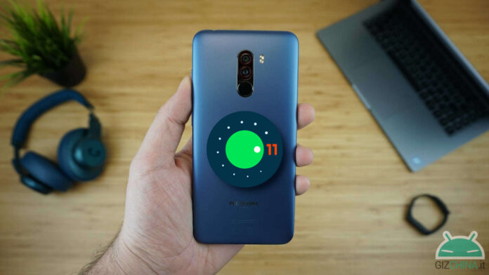 poco f1 android 11