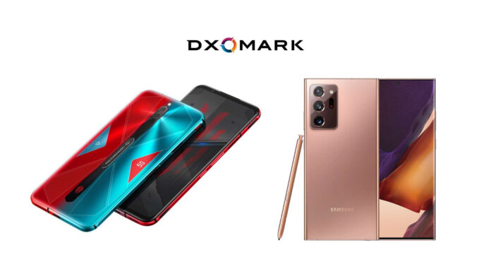 red magic 5s samsung galaxy note 20 ultra dxomark