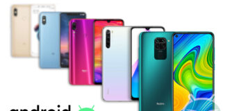 redmi note 9 redmi note 8 redmi note 7 redmi note 6 redmi note 5 android