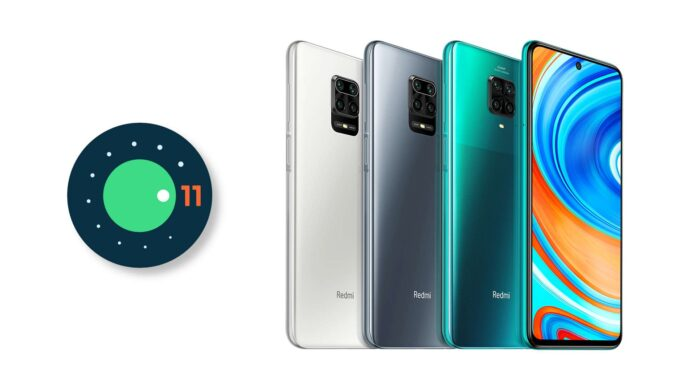 redmi note 9 pro android 11