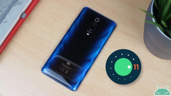 Xiaomi Mi 9T Pro android 11