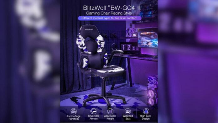 codice sconto sedia da gaming blitzwolf