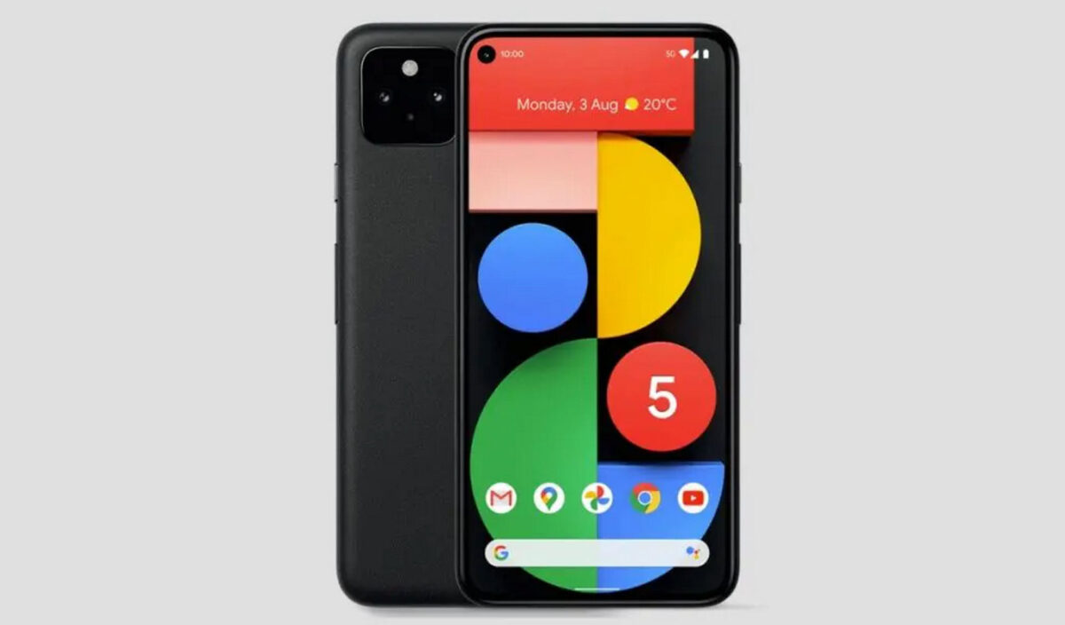 come nascondere punch hole android sfondi ufficiale google pixel 5