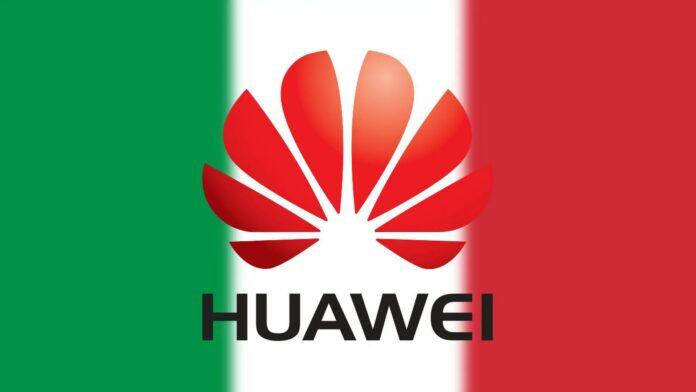 huawei fastweb italia 5g
