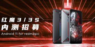 nubia red magic 3 3s closed beta android 11