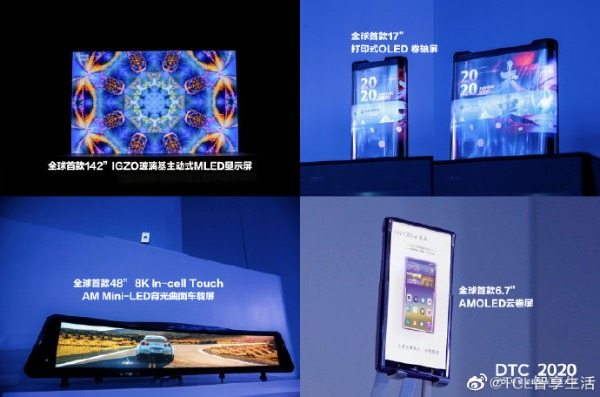 tcl display pannello