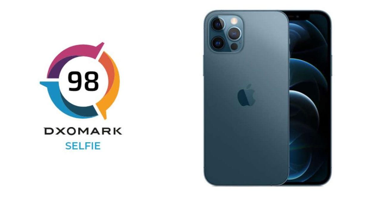 apple iphone 12 pro selfie dxomark