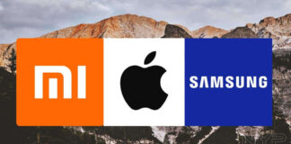 xiaomi samsung apple