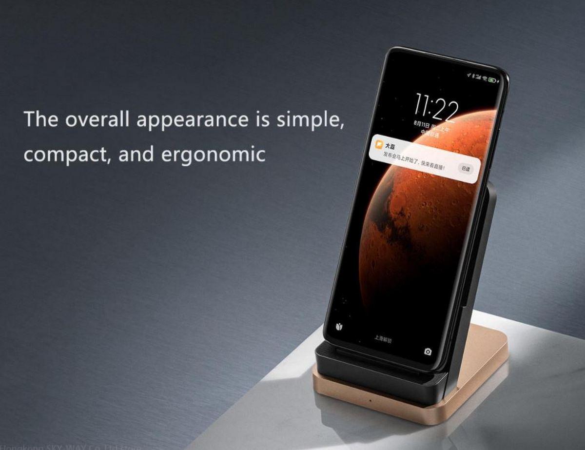 Base di ricarica wireless 55W Xiaomi - Banggood