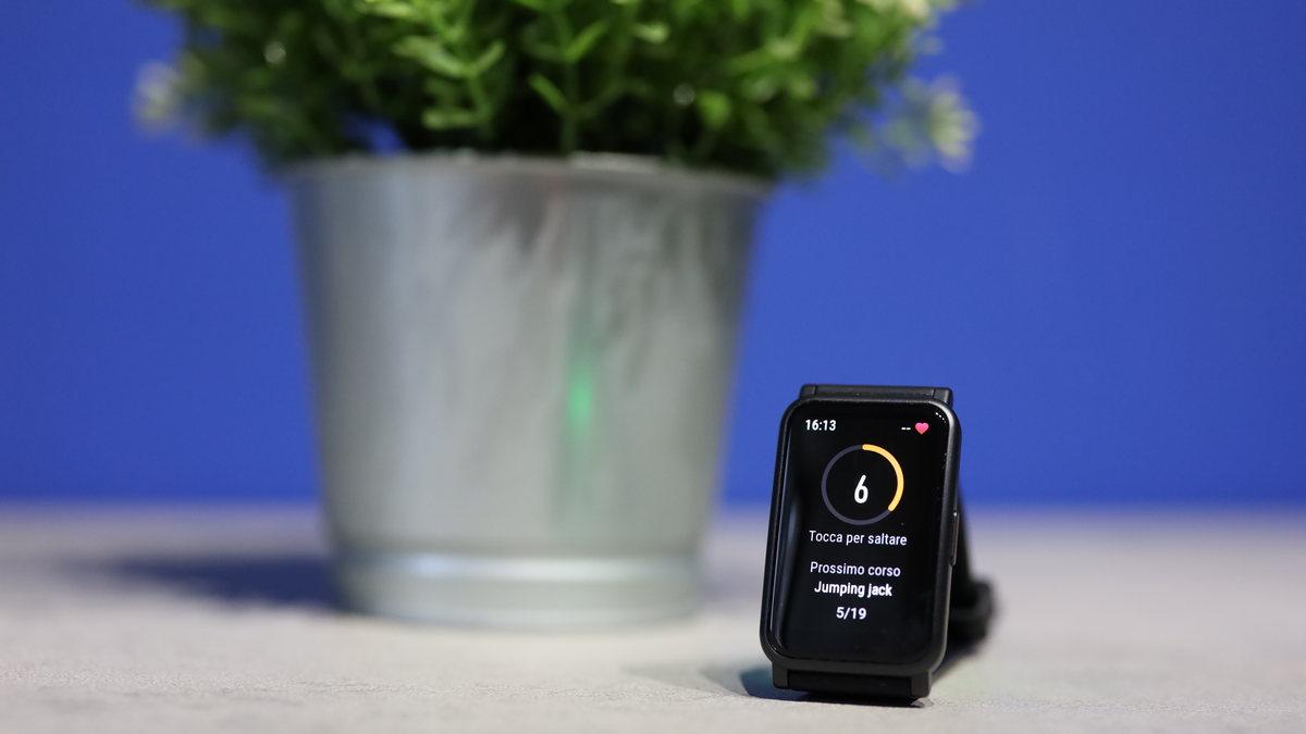 honor watch es allenamento in casa virtual coach app