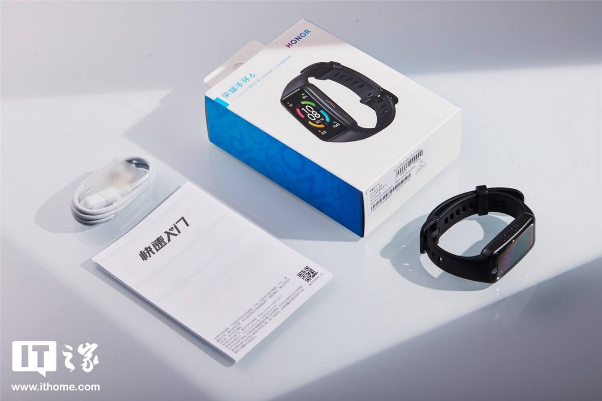 Honor Band 6 ufficiale