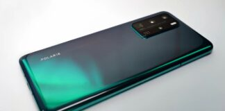 huawei p40 pro colore aurora green