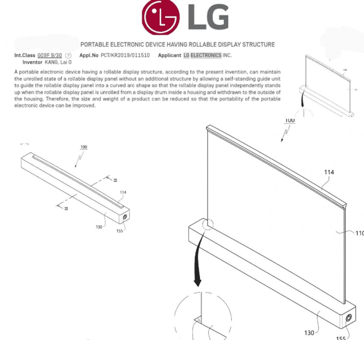 lg notebook display arrotolabile