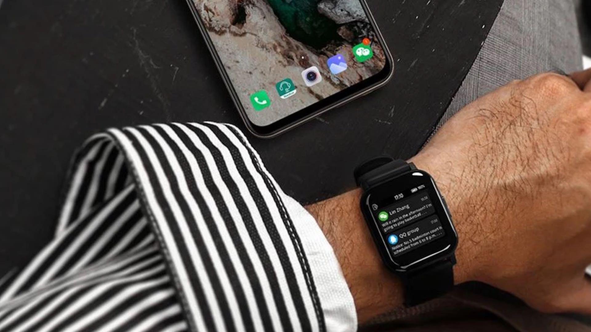 Haylou LS02 smartwatch – TomTop