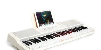 offerta tastiera elettrica musicale smart theone tok1