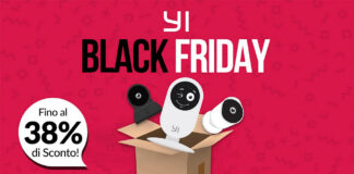 Black Friday Week yi offerte telecamere di sicurezza amazon