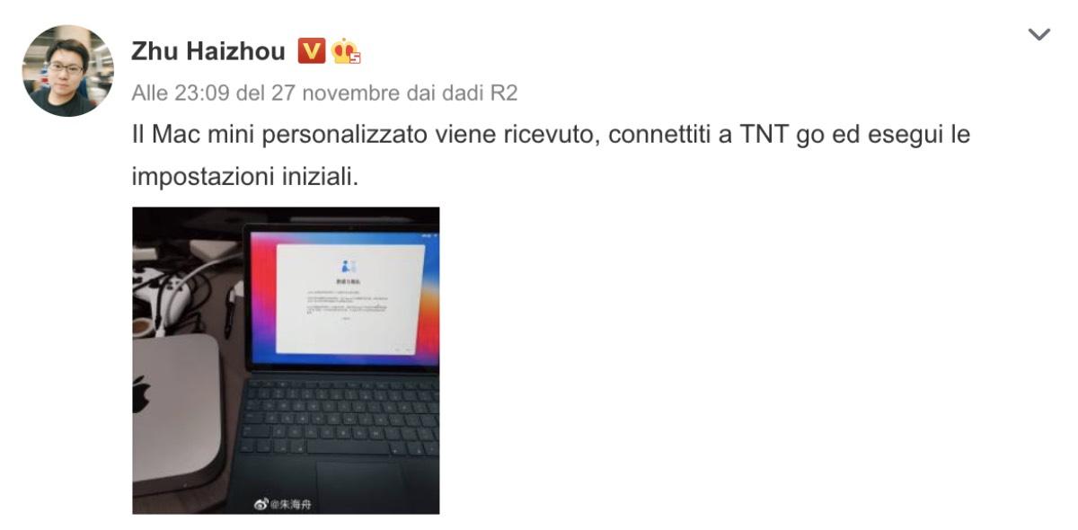 smartisan tnt go mac mini m1