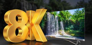 tcl display smart tv 8K grandi dimensioni produzione