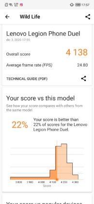 Legion benchmark