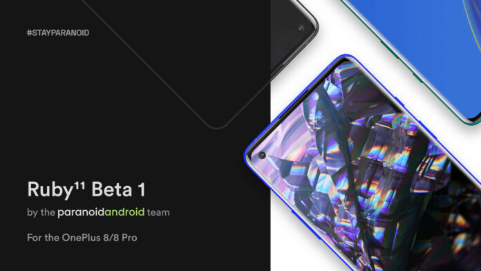 oneplus 8 pro 8t android 11 paranoid android