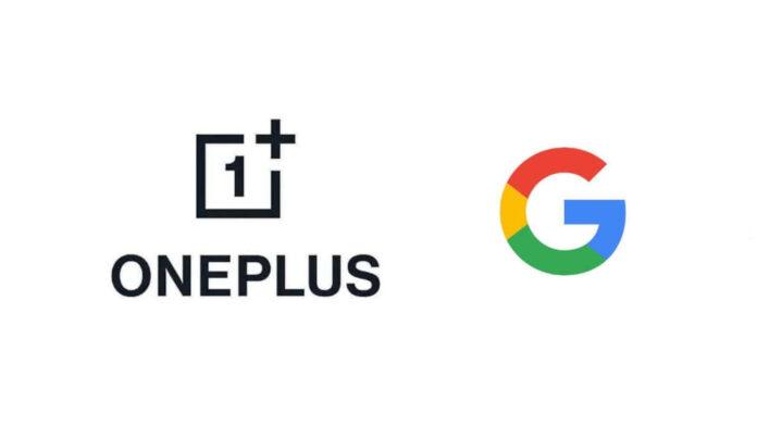 oneplus google