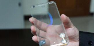 smartphone trasparente