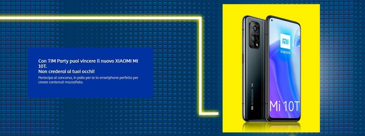 Come vincere uno Xiaomi Mi 10T con TIM Party