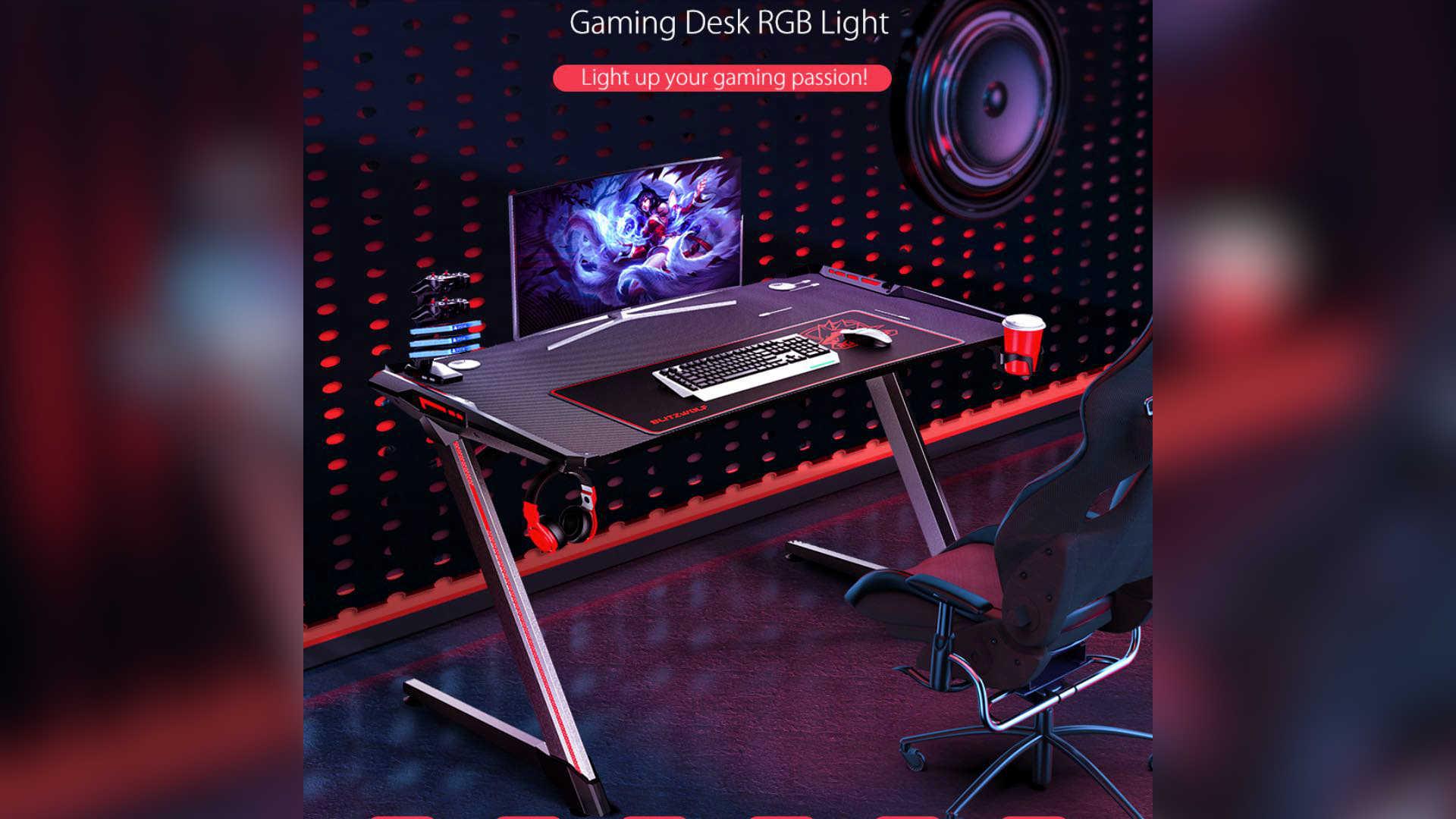 BlitzWolf BW-GD3 scrivania gaming | Banggood