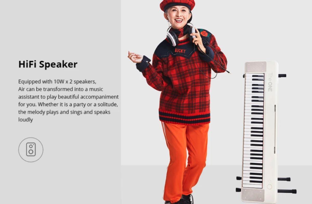 offerta tastiera elettrica smart air 61 2